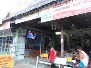 Friends restaurant, Vang Vieng, Laos