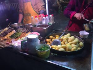 Fried potatoes, Chongqing streetfood